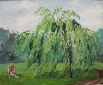 M GOODCHILD (20th century) British, Green Hair and Copper,