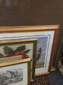 A quantity of miscellaneous prints