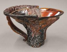 A libation cup