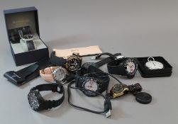 A bag of gentleman's watches