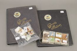 A quantity of Wills's and Players cigarette cards,