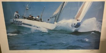ROTHMANS, 1989/90 Whitbread Round the World Yacht Race, The Solent, England,