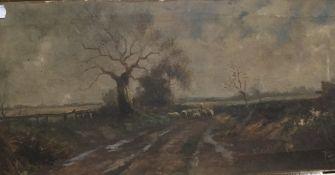 JOEL OWEN (active 1891-1931) British, Highland Landscapes, a pair, oils on canvas,