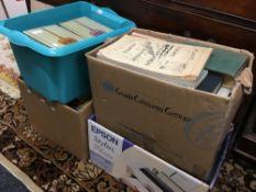 A large quantity of botanical books