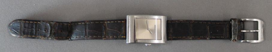 A Boucheron Tank wristwatch