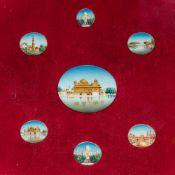 INDIAN SCHOOL (early 20th century) Views including Amritsar's Harmandir Sahib (Golden Temple),