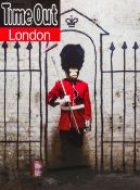 BANKSY (born 1974) British (AR) Time Out London Print, framed and glazed. 50.5 x 68 cm.