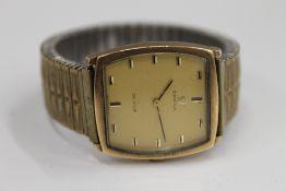 An Omega 9 ct gold cased gentleman's De Ville wristwatch,