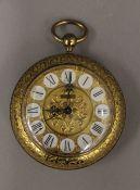 A Helveco alarm pocket watch