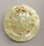 A jade roundel