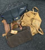 Four vintage ladies designer bags,
