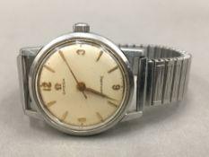 A gentleman's Omega Seamaster wristwatch