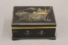 A Japanese komai type box