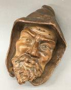 A Blackforest carved bust
