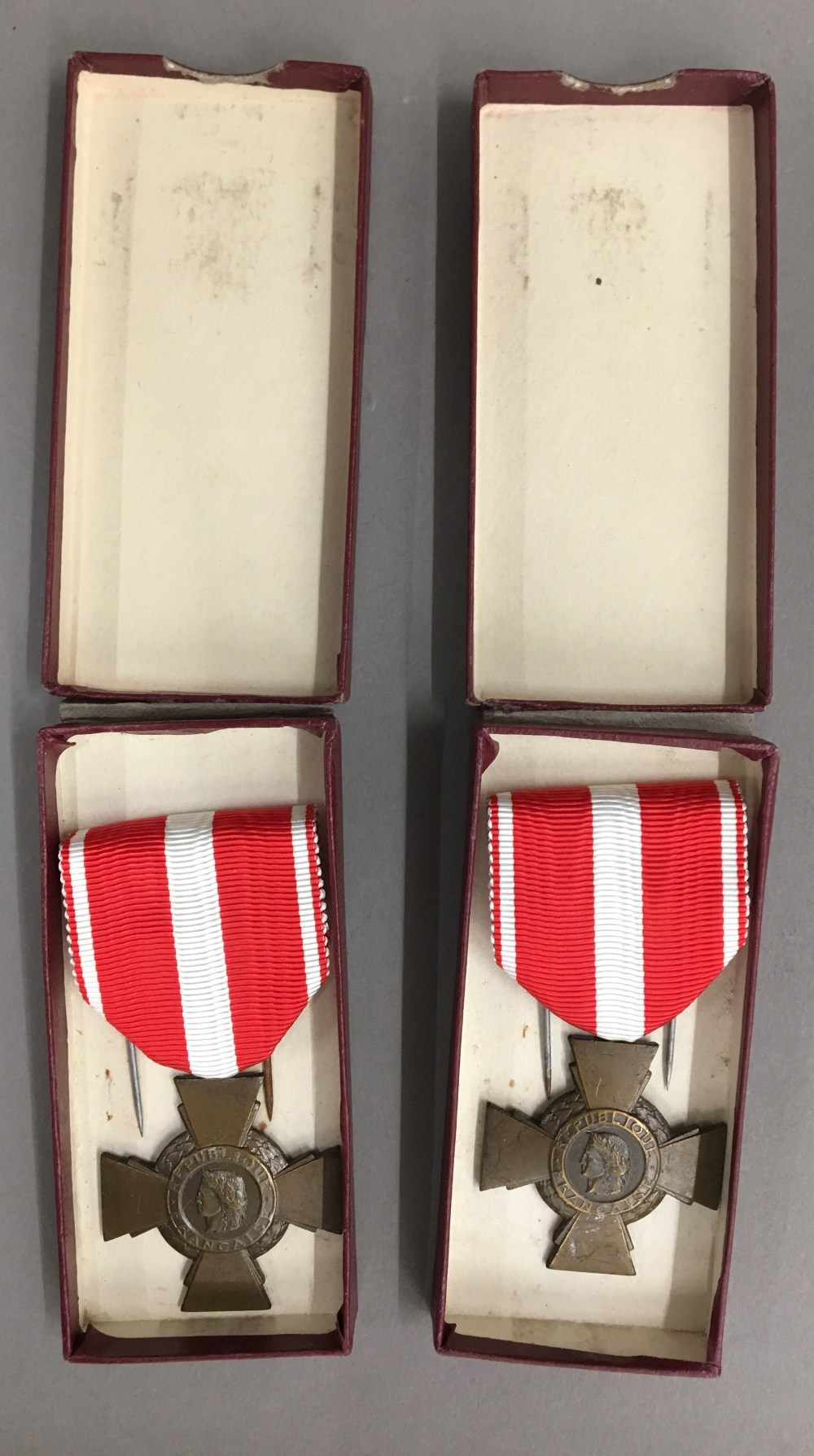 Lot 52 - Two French Republic medals
