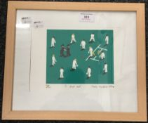 MARTIN HANDFORD, A Dead Ball, limited edition print numbered 44/50, signed and dated 1984,