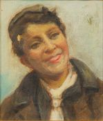 CONTINENTAL SCHOOL (19th/20th century), Portrait of a Boy, oil on canvas, framed. 16.5 x 19.5 cm.