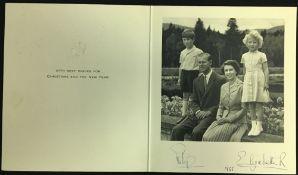 HM Queen Elizabeth II (1926-) and HRH Prince Philip,