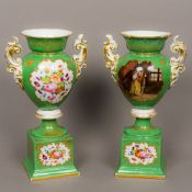 A pair of 19th century French, probably Paris,