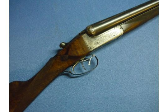 12 bore side by side ejector shotgun by C Smith & Sons