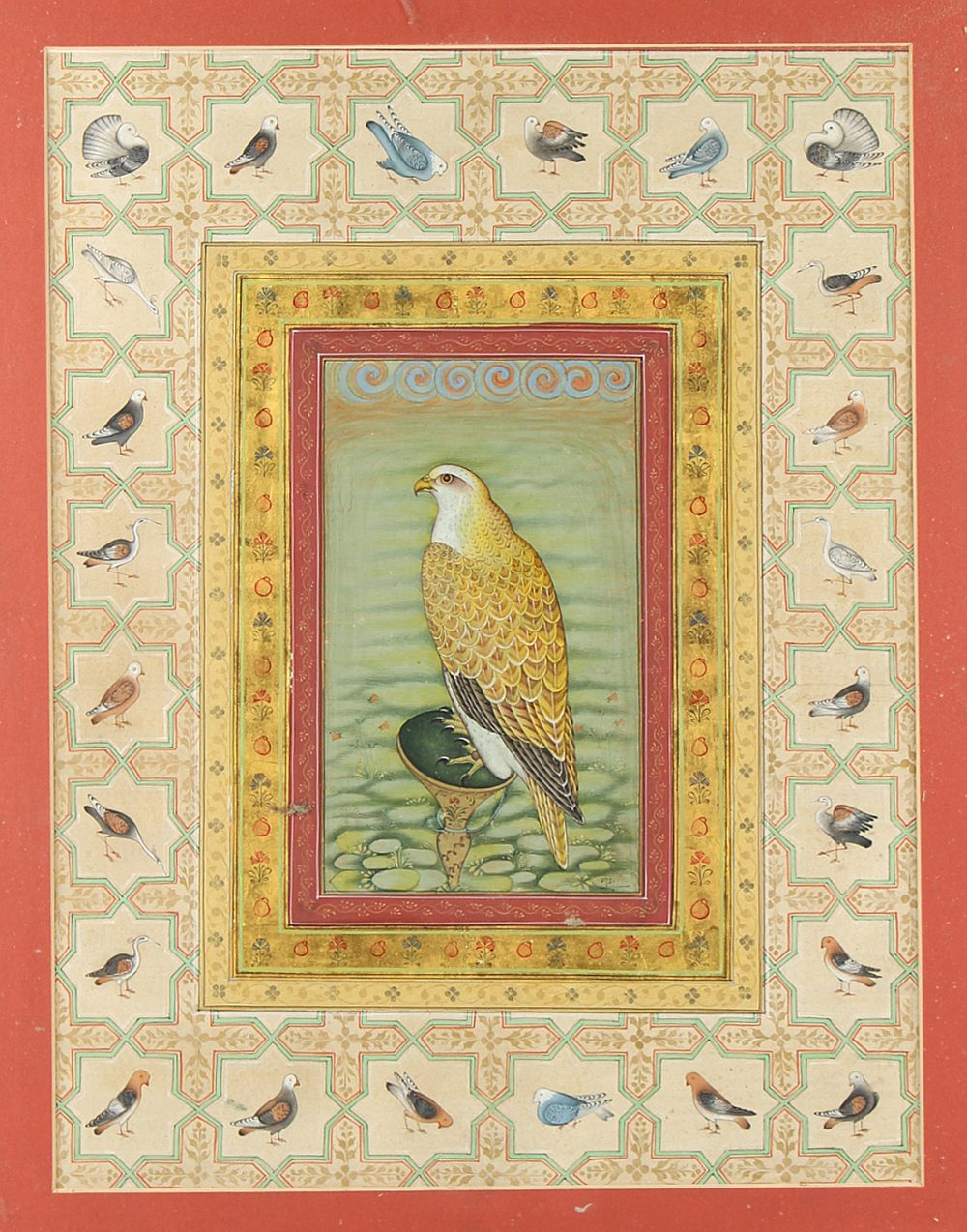 Lot 6 - Property of a gentleman - an Indian school watercolour with gum arabic heightening depicting a