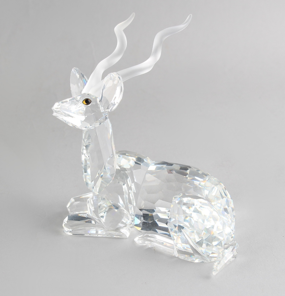 Lot 91 - A private collection of Swarovski crystal glass - Kudu, the 1994 Annual Edition 'Inspiration
