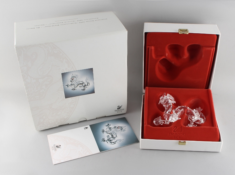 Lot 89 - A private collection of Swarovski crystal glass - Dragon, the 1998 Annual Edition 'Fabulous