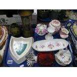 Lot 1099 - USSR Zebra, Doulton Flambe Noke pin tray, Mason's, Ridgeway, etc:- One Tray