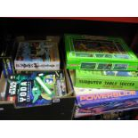Lot 1021 - Scalextric Powerslide Set (unchecked), Lego Pirates Castle, Heroica, Lego Star Wars, two Subbuteo