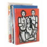 7 Kunstbücherbest. aus: Bischoff, Edvard Munch, Taschen, 1988; Schmalenbach, Fernand Léger,