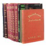 10 Bücher   Fotografiebest. aus: Frerk, Photofreund - Halbmonatsschrift für Freunde der