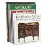 7 Bücher   Möbel & Einrichtungbest. aus: Molesworth, Meisterwerke der Möbelkunst aus drei