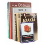 13 Bücher   Fotografieu.a. best. aus: Parker, Rollei - Die Geschichte der zweiäugigen