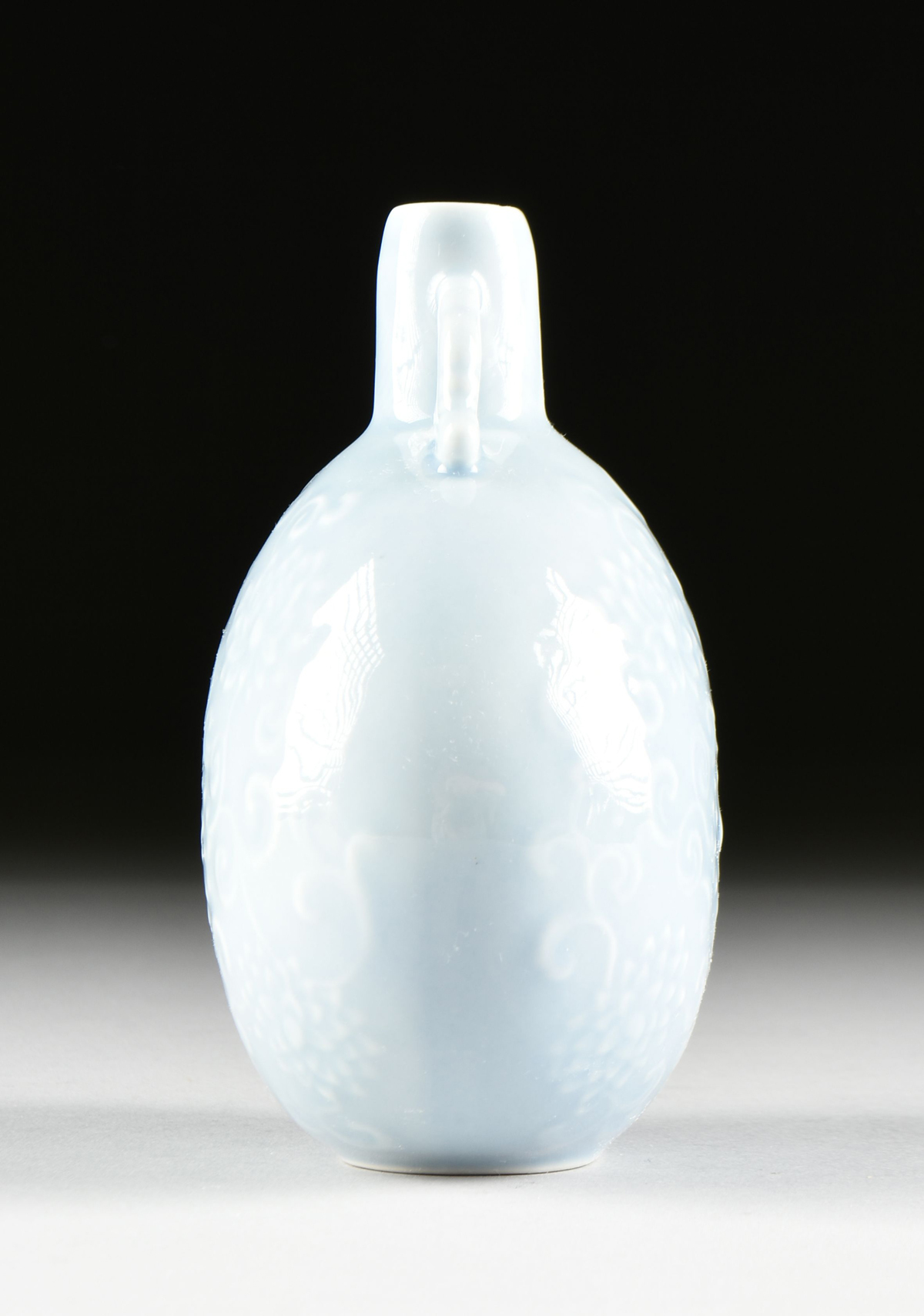 Lot 16 - A GROUP OF TWO CHINESE GLAZED PORCELAIN VASES, MODERN, comprising a Qing Dynasty (1644-1912) style