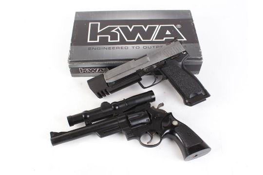 6mm Maruzen 44 Magnum airsoft pistol