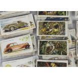 Cigarette Cards, Mixture, a large collection of part sets, held in plastic sleeves, Manufacturers