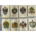 Foreign Cigarette Silks, British American Tobacco, Arms of Countries (Spanish)(M25, plus 1