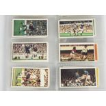 Trade Cards, Football, a further selection, including Bassett Football Action (9), Barrett Famous