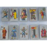 Cigarette Cards, Cavanders, a collection of sets in a modern ringbinder, to name, Ancient Chinese,