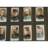 Cigarette Cards, Mixture, two hardback slot in albums containing various sets and part sets mainly