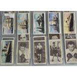 Cigarette Cards, Mixture, a selection of part sets contained in a modern ringbinder, various