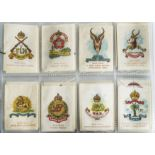 Cigarette Silks, Phillips, Colonial Army Badges, complete set (M108) with I reprint (gd)