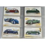 Cigarette Cards, Players, contained in a modern ringbinder, a collection of sets, various genres, to