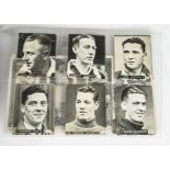 Trade Cards, Football, a selection of part sets including Amalgamated Press Famous Footer