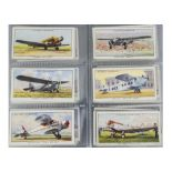 Cigarette Cards, Transport, a variety of sets to name, Churchmans Wonderful Railway Travel, Wills