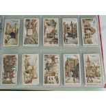 Cigarette Cards, Players, a selection of sets, to name Celebrated Gateways, Egyptian Kings &
