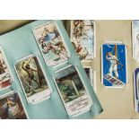 Cigarette Cards, Mixture, a selection of larger card sets to name, Wills The Kings Art Treasures,