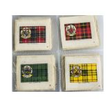Cigarette Silks, Phillips, Clan Tartans (L56)(gd)