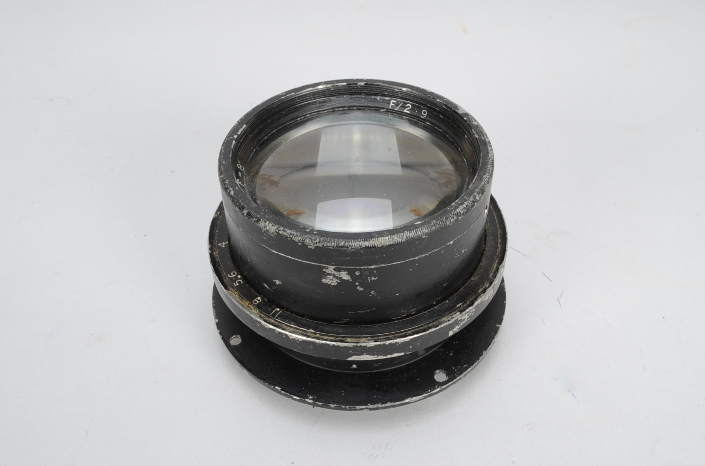 Lot 56 - An Aerial Photography Lens, black, serial no 415494, 8in f/2.9, no maker's name, marked A.M. 14A/