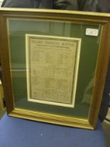 Lot 59 - Cricket, 1879, Yorkshire v Gloucestershire, a scorecard from the game played at Bramall Lane,